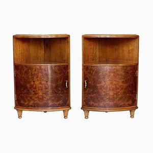 Corner Cabinets, 1920s, Set of 2