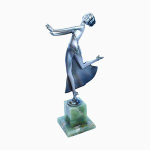 Sculpture Joy par Josef Lorenzl, 1930s
