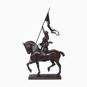Jeanne D'Arc Sculpture by Emmanuel Fremiet, 1880s