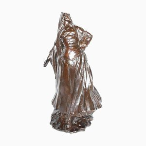 Antique Spanish Dancer Sculpture