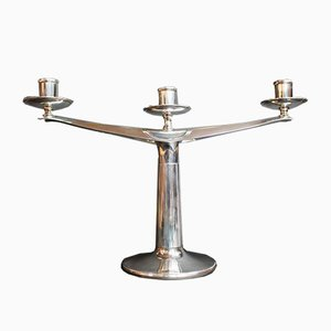 Silver Candleholder, 1970s
