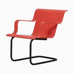 Finnish Cantilever Model No. 26 Armchair by Alvar Aalto for Artek, 1930s