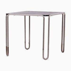 Tavolo da pranzo Bauhaus B10 di Marcel Breuer per Thonet, Germania, anni '20