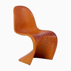 Werkstück des Panton Chairs von Verner Panton für Vitra, 1960er