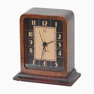 Horloge de Table Électrique Art Déco par Gilbert Rohde pour Herman Miller, 1930s
