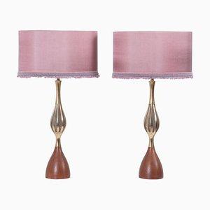 Tischlampen von Tony Paul für Westwood Lamps, 1960er, 2er Set