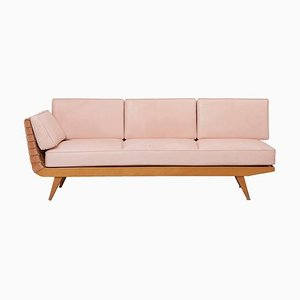 Daybed in Leather by Jens Risom for Walter Knoll, 1950s