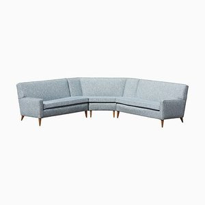 Sectional Corner Sofa by Paul McCobb for Custom Craft Inc., 1950s, Set of 3