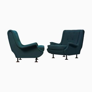 Regent Lounge Chairs by Marco Zanuso for Arflex, Italy, 1960s, Set of 2