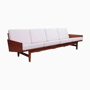 4-Sitziges Walnuss Sofa von Arden Riddle, 1967