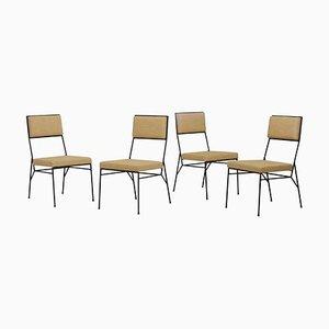 Stühle aus Schmiedeeisen von Paul McCobb für Arbuck, 1950er, USA, 4er Set