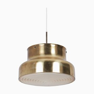 Brass Bumling Pendant Lamp by Anders Pehrson for Ateljé Lyktan, 1970s