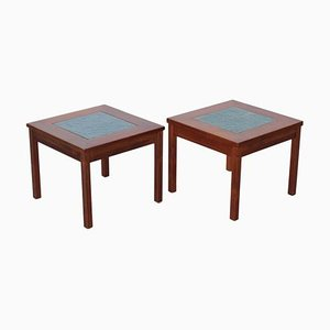 Constellation End Tables or Nightstands by John Keal for Brown Saltman, 1960s, Set of 2
