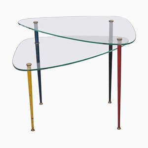 Arlecchino Side Table by Edoardo Paoli for Virtex, 1950s