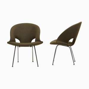 Model 350 Lounge Chairs by Arno Votteler for Walter Knoll, 1950s, Set of 2