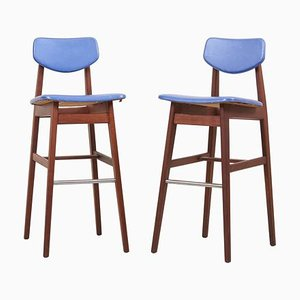 Barstools by Jens Risom, USA, 1960s, Set of 2