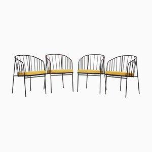 Außen Stühle von George Nelson für Arbuck, 1950er, 4er Set