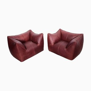 Dolls Lounge Armchairs by Mario Bellini for B&B Italia, 1970s, Set of 2
