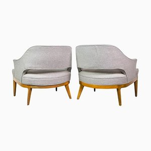 Lounge Chairs by Harvey Probber, 1950s, Set of 2
