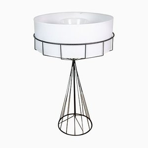 Wire Table Lamp by Tony Paul for The Elton Company, USA, 1950s
