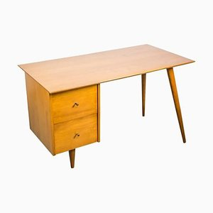Schreibtisch aus Ahornholz von Paul McCobb für Planner Group, 1950er