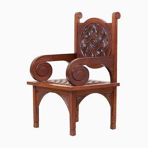 Art Deco Sessel von M. Jacques Philippe, Frankreich, 1930er