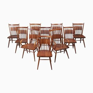 Centennial Stühle von Kipp Stewart für Drexel, 1950er, 10er Set