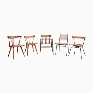 Planner Group Chairs by Paul McCobb for Winchendon Furniture Company, 1950s, Set of 5