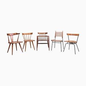 Planner Group Stühle von Paul McCobb für Winchendon Furniture Company, 1950er, 5er Set