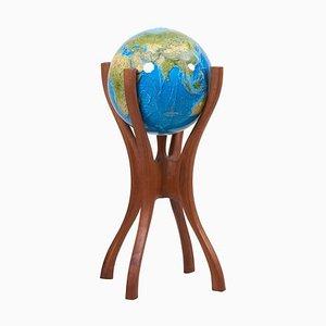 Amerikanischer Studio Globus mit Globus von Bud Tullis, 1981