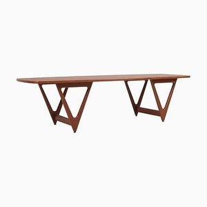Surfboard Coffee Table by Kurt Østervig for Jason Møbler, Denmark, 1950s