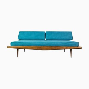 American Daybed in Walnut by Adrian Pearsall for Craft Associates, 1950s