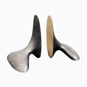 Bookends by Carl Auböck, 2013, Set of 2