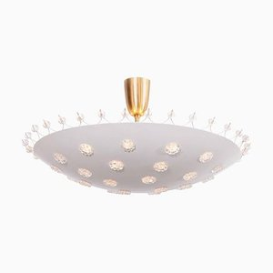 Flush Mount Ceiling Lamp by Emil Stejnar for Rupert Nikoll, 1950s