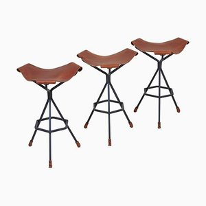 Barstools by Dan Wenger, USA, 2017, Set of 3