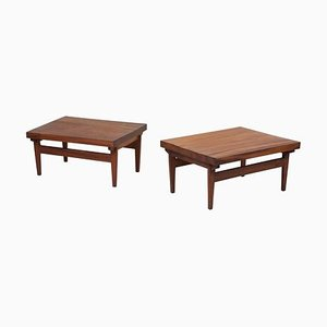 Studio Craft End Tables, Guatemala, 1960s, Set of 2