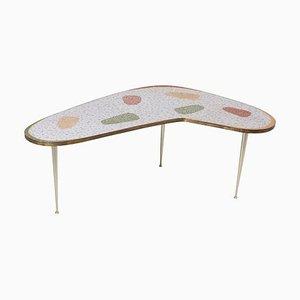 Tavolino da caffè Boomerang vintage di Berthold Muller, anni '50