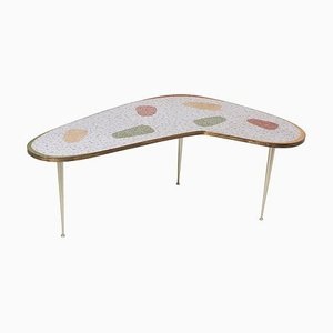 Vintage Boomerang Coffee Table by Berthold Muller, 1950s