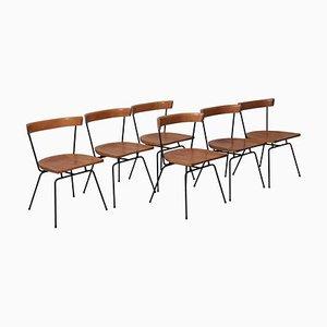 Matched 1535 Planner Group Esszimmerstühle von Paul McCobb für Winchendon, 1950er, 6er Set