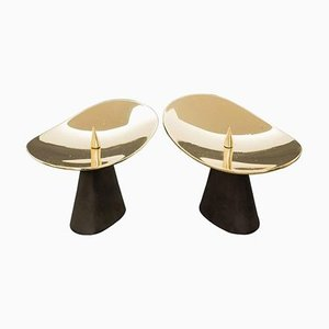 Candleholders by Carl Auböck, 2013, Set of 2