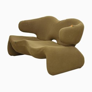 Djinn Settee by Olivier Mourgue for Airborne, 1960s