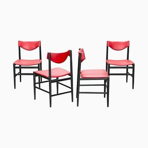 Chairs by Gianfranco Frattini for Cassina, 1950s, Set of 4