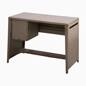 Ladies Desk in Metal by B.B.P.R. for Olivetti, 1960s