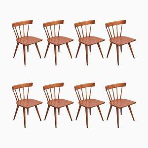 Speichen Stühle von Paul McCobb für Winchendon, USA, 1950er, 8er Set