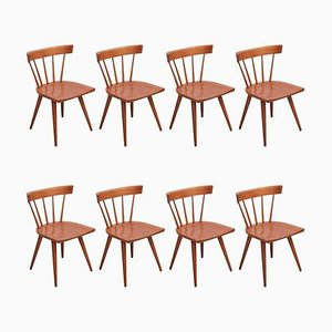 Spindle Back Chairs by Paul McCobb for Winchendon, USA, 1950s, Set of 8