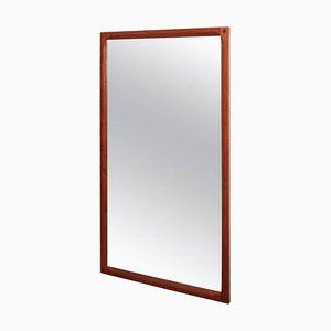 Specchio in teak di Aksel Kjersgaard per Odder, Danimarca, anni '60