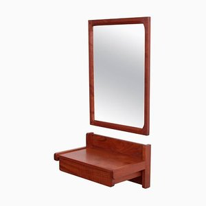 Danish Teak Mirror and Drawer Set by Aksel Kjersgaard for Odder, 1960s