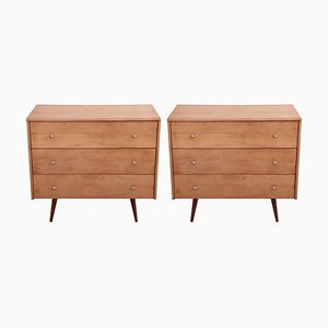 Planner Group Chest of Drawers by Paul McCobb, 1950s, Set of 2