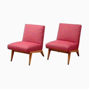 21 Stühle von Jens Risom für Knoll, USA, 1940er, 2er Set