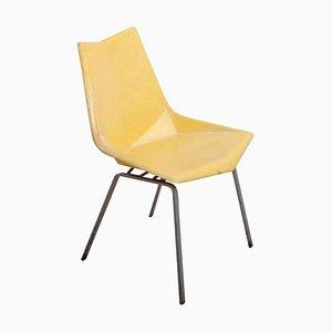 Gelber Origami Stuhl von Paul McCobb für St. John, 1950er